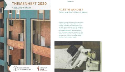 Veröffentlichung in der Zeitschrift: Themenheft Hausen&Wohnen