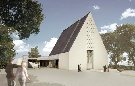 Neubau des Josefzentrums: Kirchbau mit Pfarrheimflächen