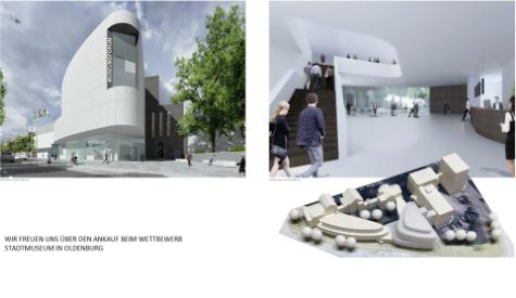 Wettbewerb: Neubau Stadtmuseum in Oldenburg