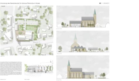 Umnutzung des Standortes der St.Antonius Pfarrkirche in Hörstel