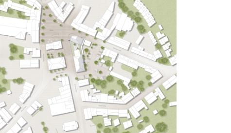 Erweiterung und Umbau des Rathauses in Olfen