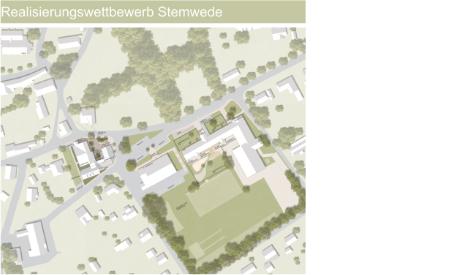 Wettbewerb: Anbau und Umbau Rathaus und Kita in Stemwede