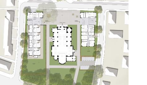 Wettbewerb: Neubau eines Pfarrzentrums und einer Kita in Duisburg Rheinhausen