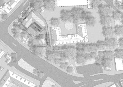 Neubau einer Kindertageseinrichtung am Schlossplatz, Münster